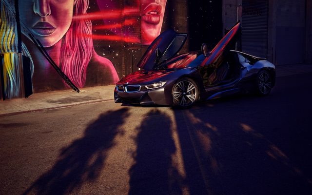 1920x1193 pix. Wallpaper bmw i8, bmw, cars, supercar, black car