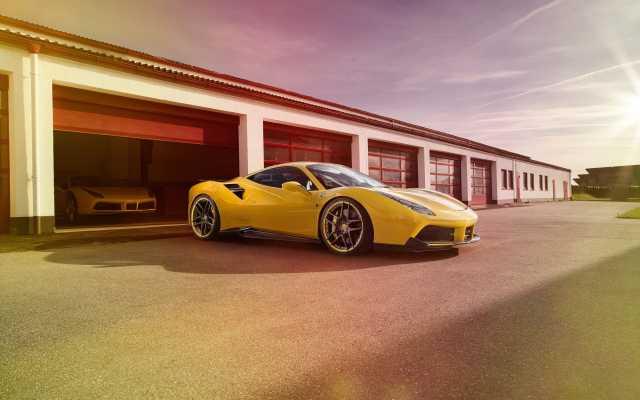 4096x2731 pix. Wallpaper ferrari 488 gtb, ferrari 488, ferrari, cars, yellow car