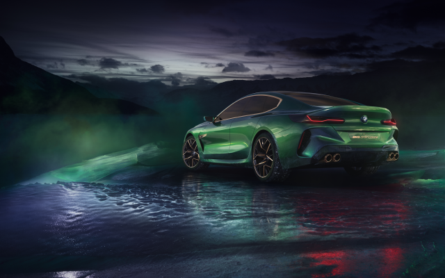 7087x5102 pix. Wallpaper bmw m8, cars, green car, bmw, bmw concept m8 gran coupe