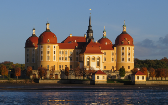4000x2664 pix. Wallpaper moritzburg castle, castle, germany, lake, moritzburg palace, baroque, moritzburg, saxony, city