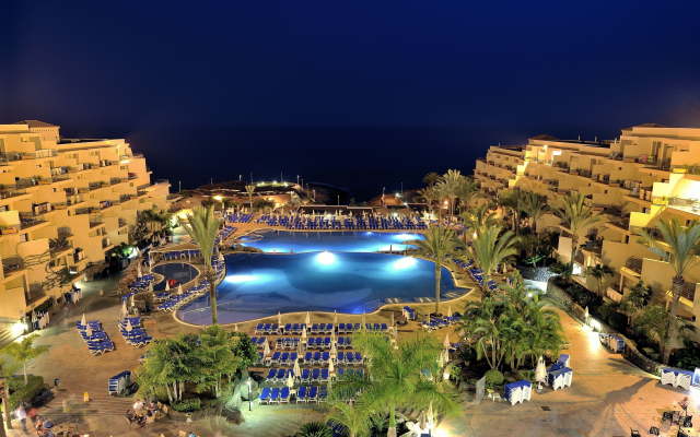 4102x2699 pix. Wallpaper canary, santa cruz de tenerife, tenerife, resort, canary islands, night, pool