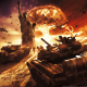 world in conflict, video games, Soviet Army, Soviet Union, USSR, statues, Statue of Liberty, tanks wallpaper