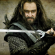 The Hobbit, movies, Thorin Oakenshield, dwarf, sword wallpaper