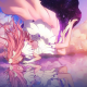 anime girls, Mahou Shoujo Madoka, Magica, reflection wallpaper