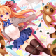 anime girls, Gekkan Shoujo Nozaki-kun, Sakura Chiyo wallpaper