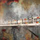 artwork, tram, art, graphics wallpaper