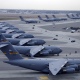 C-17, C-17 Globemaster III, military aircraft, US Air Force, aviation, aircraft wallpaper