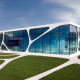 Leonardo Glass Cube, architecture, Germany, building wallpaper