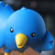 twitter, ollie, toy, bird wallpaper