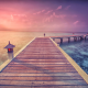 maldives, pier, ocean, beach, water, sunlight, evening, nature wallpaper