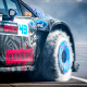car, race cars, smoke, fluffy tire blankets, Ken Block, turbofan wheels wallpaper