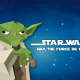 Star Wars, Jedi, Yoda, Star Wars: Episode VII - The Force Awakens, galaxy, stars, art wallpaper