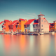 house, Netherlands, architecture, water, long exposure, pier, boat wallpaper