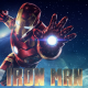 Iron Man, Tony Stark, galaxy, spiral galaxy, flares, Marvel wallpaper