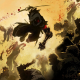 artwork, ninja, ninja robots, cyborg, zombie, blood, warrior, yaiba, ninja gaiden z wallpaper