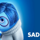 Inside Out, cartoons, movies, sadness wallpaper