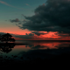 clouds, reflection, Australia, nature, sunrise wallpaper