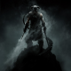 dragonborn, dovahkiin, The Elder Scrolls V: Skyrim, dragon, video games wallpaper