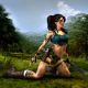 Tomb Raider, Lara Croft, artwork, dirt, forest wallpaper