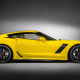 Chevrolet Corvette Z06, Chevrolet Corvette, car, yellow cars, Chevrolet wallpaper