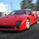 Gran Turismo 6, PlayStation 3, car, Ferrari, Ferrari F40, video games wallpaper