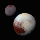 pluto, planet, charon, solar system, universe, astronomy, space wallpaper