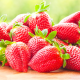 strawberry, berry, food wallpaper