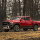 car, Dodge RAM, pickup, forest, 4x4, dirt road, Dodge wallpaper