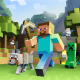 Minecraft, video games, pixels wallpaper
