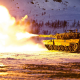 Norwegian Army, Leopard 2, military, tank, winter, snow wallpaper