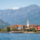 Lake Maggiore, Lago Verbano, apls, italy, switzerland, island, lake, mountains, nature wallpaper
