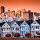 city, house, building, San Francisco, California, usa wallpaper