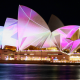 Sydney, Sydney Opera House, night, australia, city wallpaper