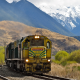 train, freight train, New Zealand, railway, mountains, nature wallpaper