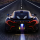 McLaren P1, car, night, supercar wallpaper