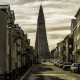 reykjavik, city, cityscape, architecture, building, iceland, street, church wallpaper