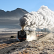 train, steam train, polo field, hoar, frost, 25nc 3472, sas 3472, slabberts, fouriesburg, south afri wallpaper