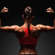 muscles, women, fitness wallpaper