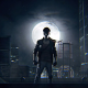 Kung Fury, movies, night, moon wallpaper