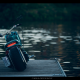 honda ruckus, motorcycle, nature, water, honda wallpaper