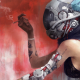 women, digital art, robots, cyborgs, technology, helmets, cigarettes, bare shoulders, pipes, cables, wallpaper
