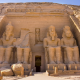 abu simbel, temple, egypt, nubia, nature wallpaper