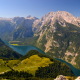 konigssee lake, berchtesgaden alps, alps, bavaria, germany, mountains, nature wallpaper