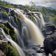 fintry, scotland, waterfall, nature wallpaper