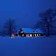 christmas, night, winter, snow, tree, lights, new year, christmas tree wallpaper