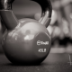 crossfit, russian dumbbell, weight, 45lb, sport wallpaper