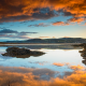 england, north wales, nature, clouds, reflections wallpaper