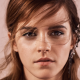 emma watson, women, face, long hair wallpaper
