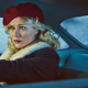 fargo, tv series, movies, kirsten dunst, women, blonde, actress, red lipstick, car, women with cars, wallpaper