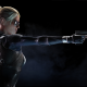 mortal kombat x, cassie cage, video games, gun wallpaper